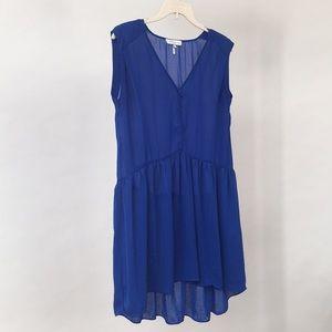 Sandro Blue Dress Size 1